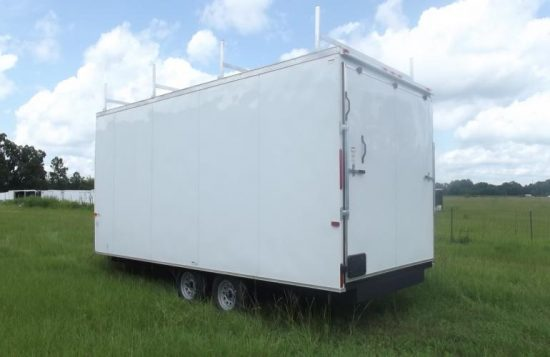 First Response Community Trailer Enclosed