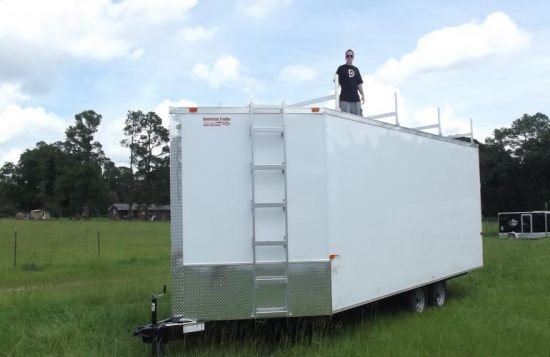 First Response Community Trailer Sturdy Roof