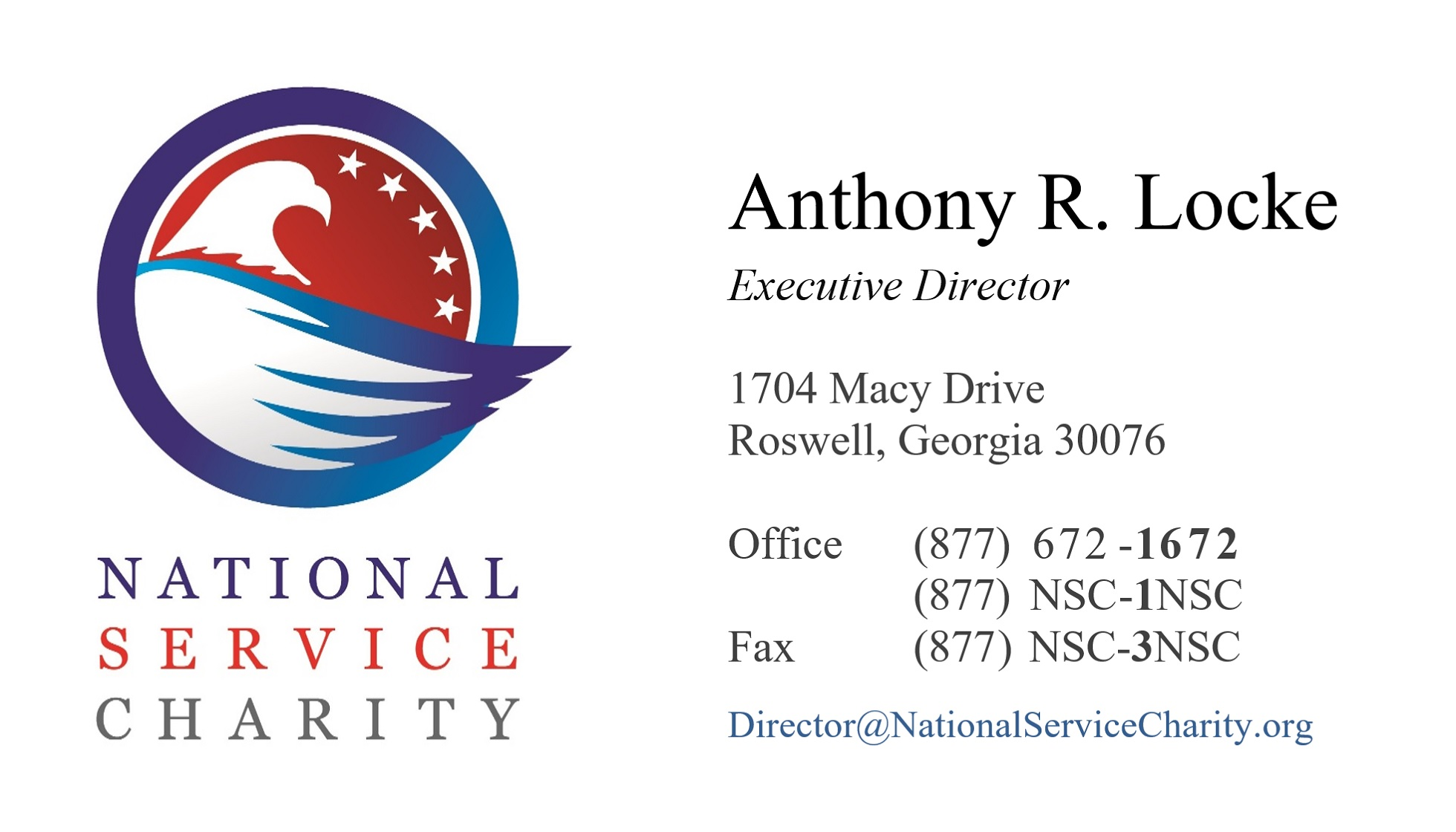 NSC Business Card Macy 2019