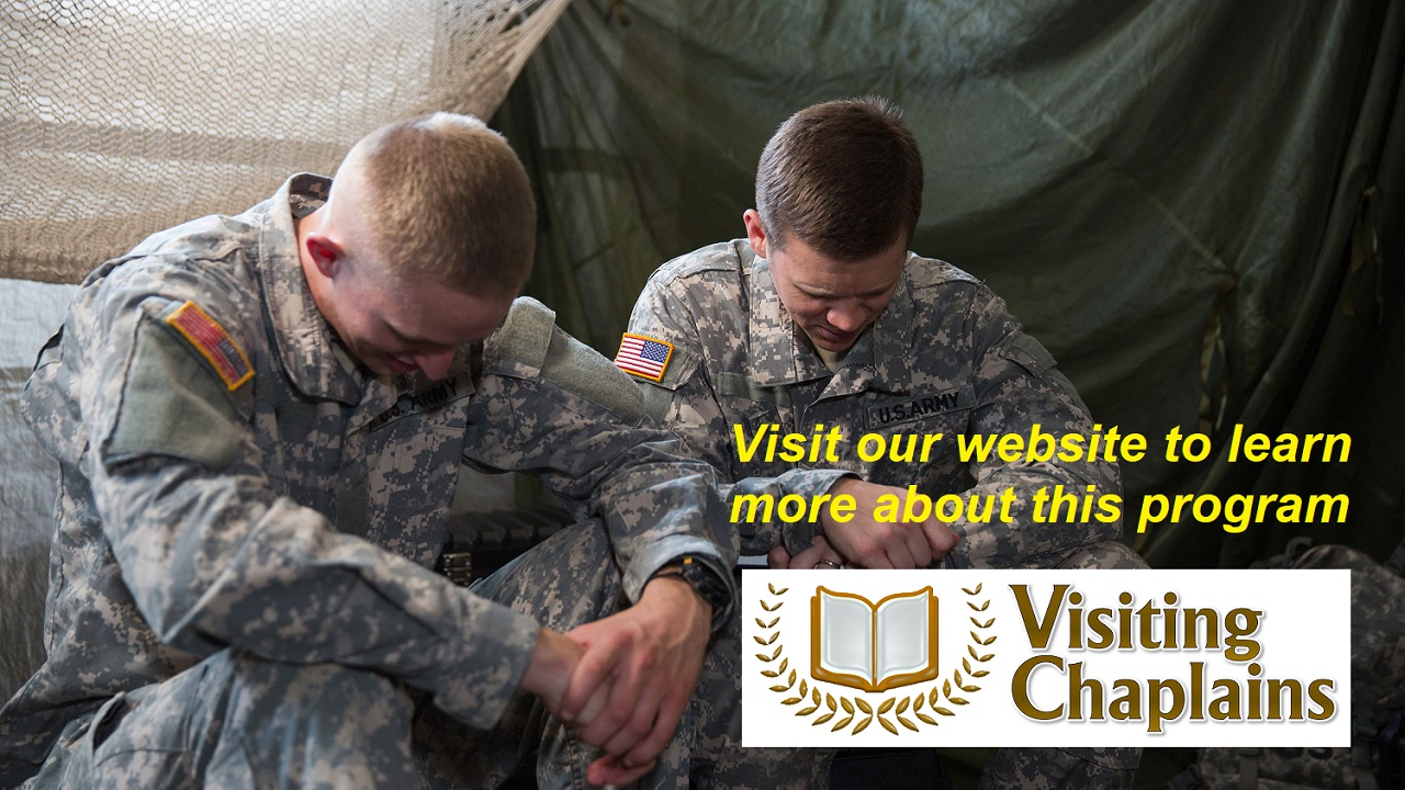 Visiting Chaplains partnered with National Service Charity